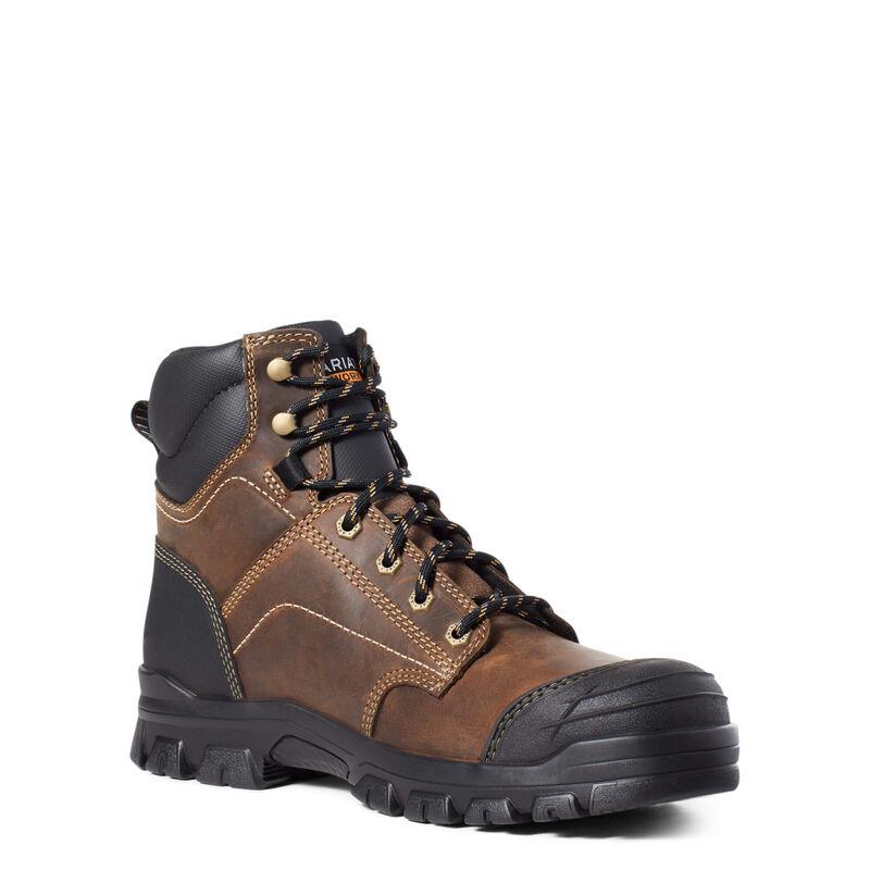 "Treadfast 6"" Steel Toe Work Boot"