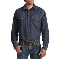 FR Denim Work Snap Shirt