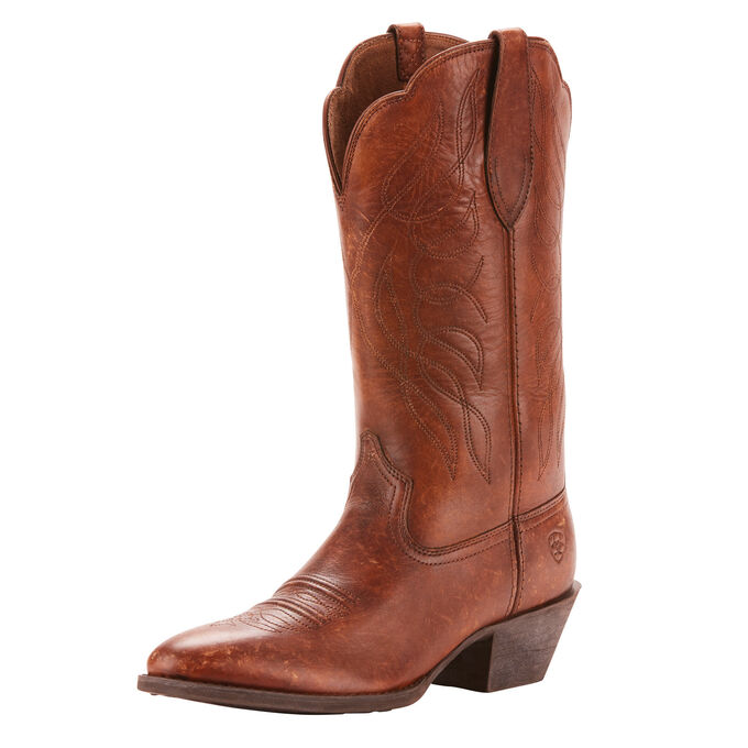Heritage R Toe Western Boot
