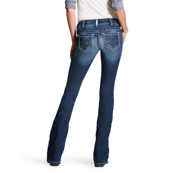 R.E.A.L Low Rise 3-D Gwen Boot Cut Jean