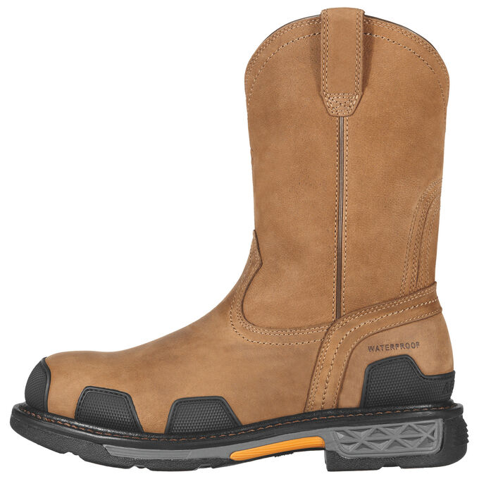 OverDrive Pull-On Waterproof Composite Toe Work Boot