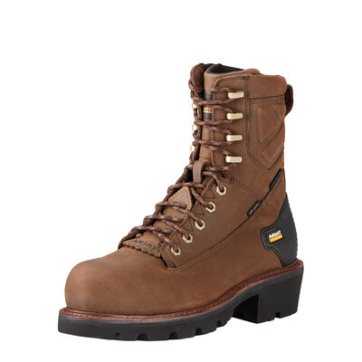 "Powerline 8"" Waterproof Work Boot"