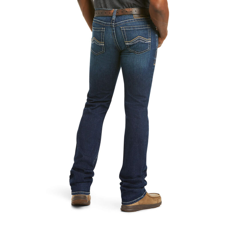 M7 Rocker Stretch Jett Stackable Straight Leg Jean