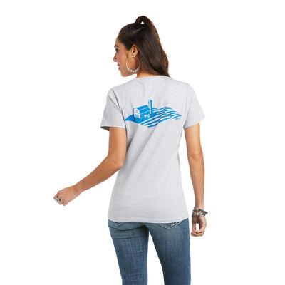 Ariat Farmland Flag T-Shirt