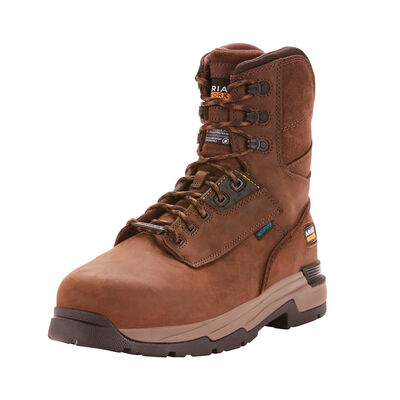 "MasterGrip 8"" Waterproof 400g Composite Toe Work Boot"