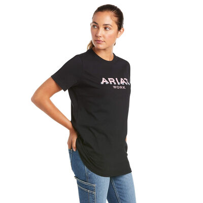 Rebar Cotton Strong Logo T-shirt