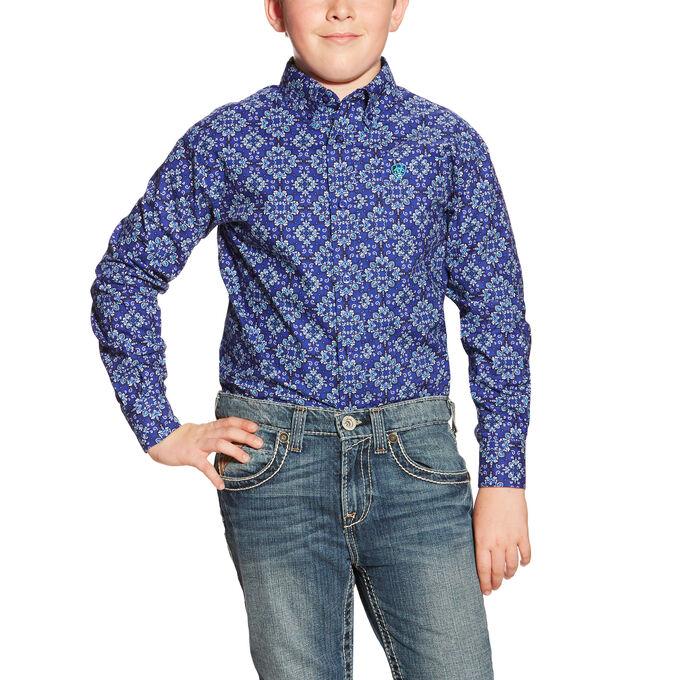 Boys Dante LS Print Shirt
