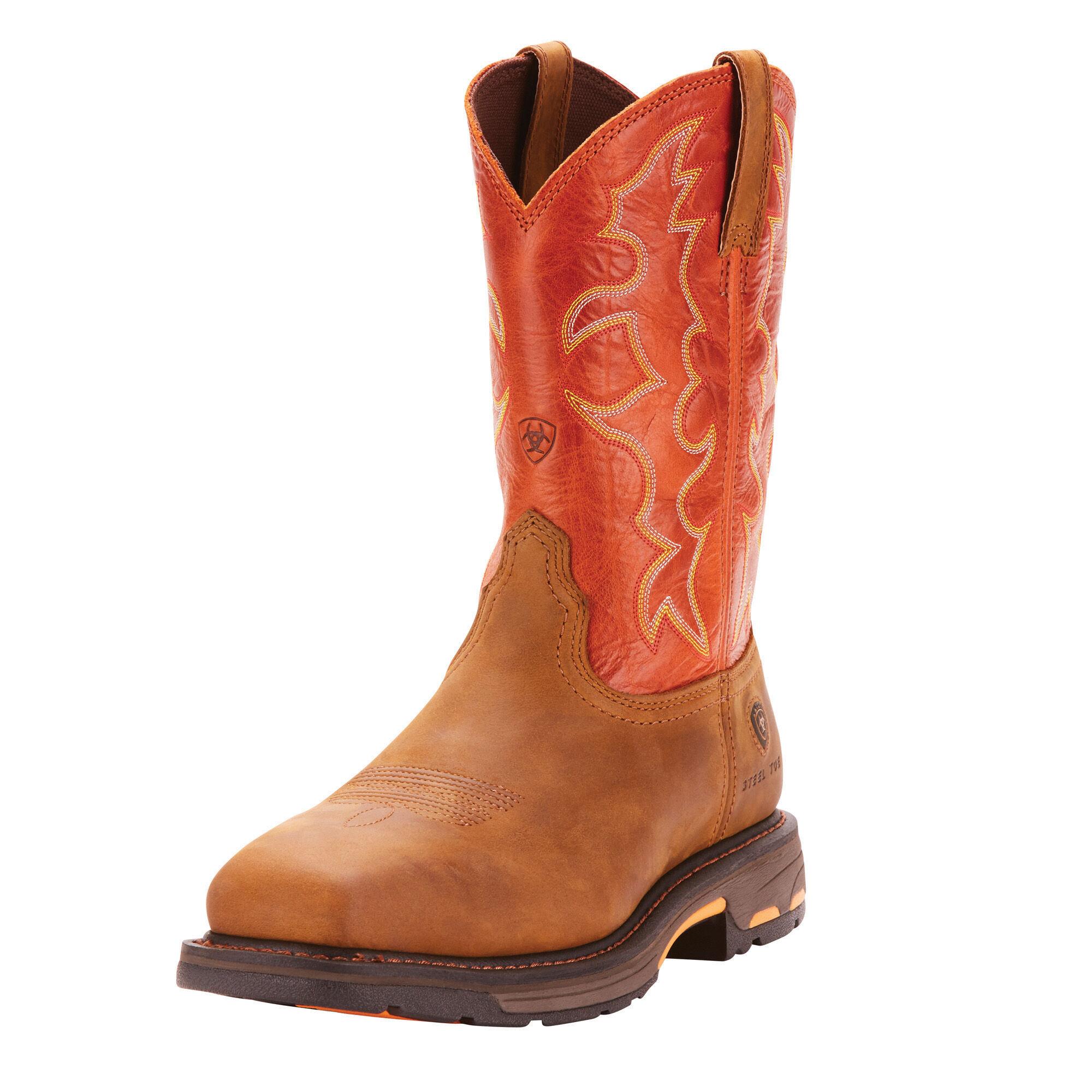 Steel Toe Work Boots for Men - Ariat