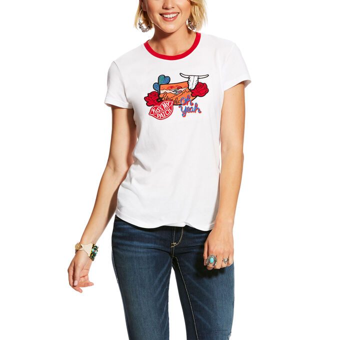 Patch Ringer Tee Tee