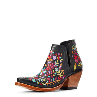 Dixon Floral Western Boot