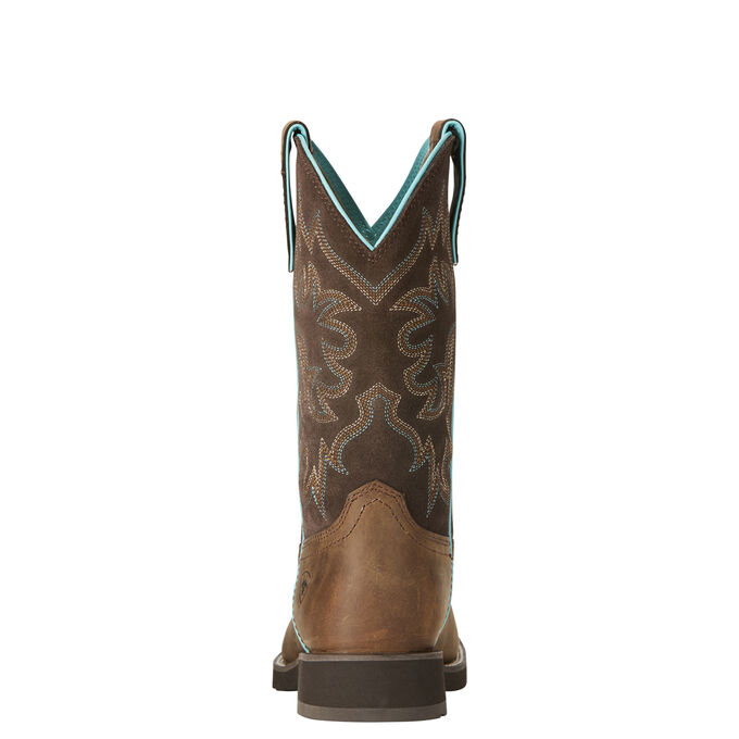 Delilah Round Toe Western Boot