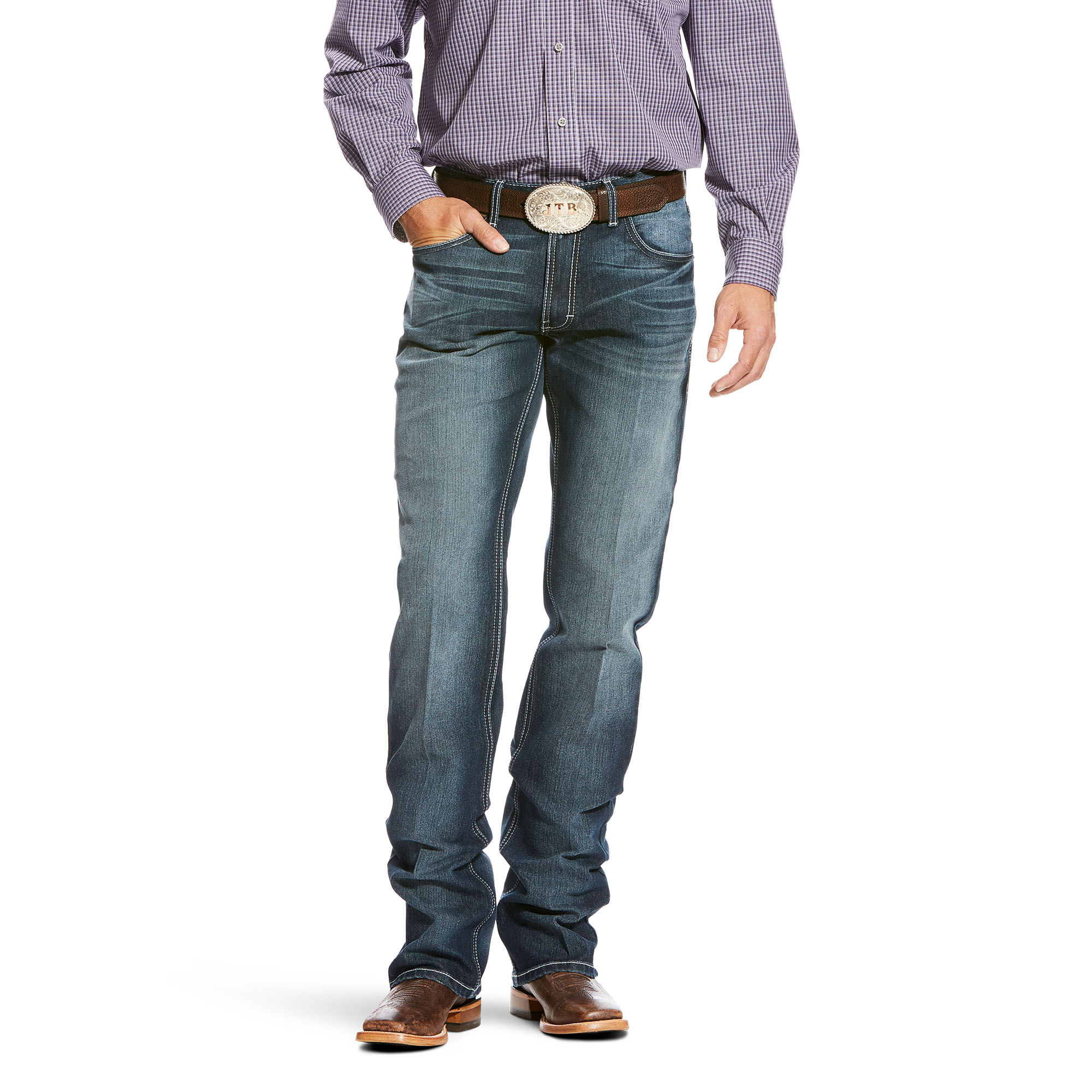 Relentless Original Fit Razor Performance Stretch Stackable Straight Leg Jean
