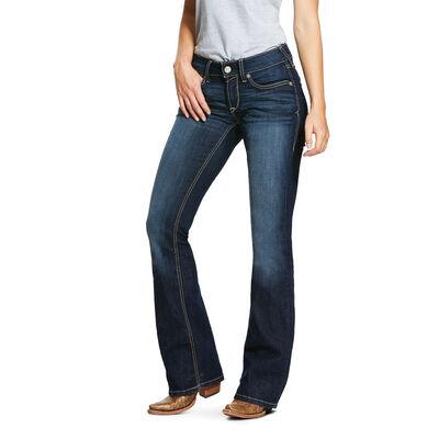 R.E.A.L. Mid Rise Stretch Lucia Boot Cut Jean