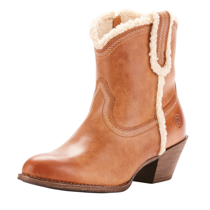 Darlin Fleece Western Boot
