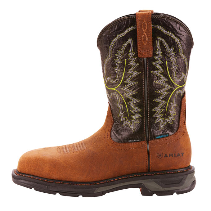 WorkHog XT Wide Square Toe Waterproof Carbon Toe Work Boot