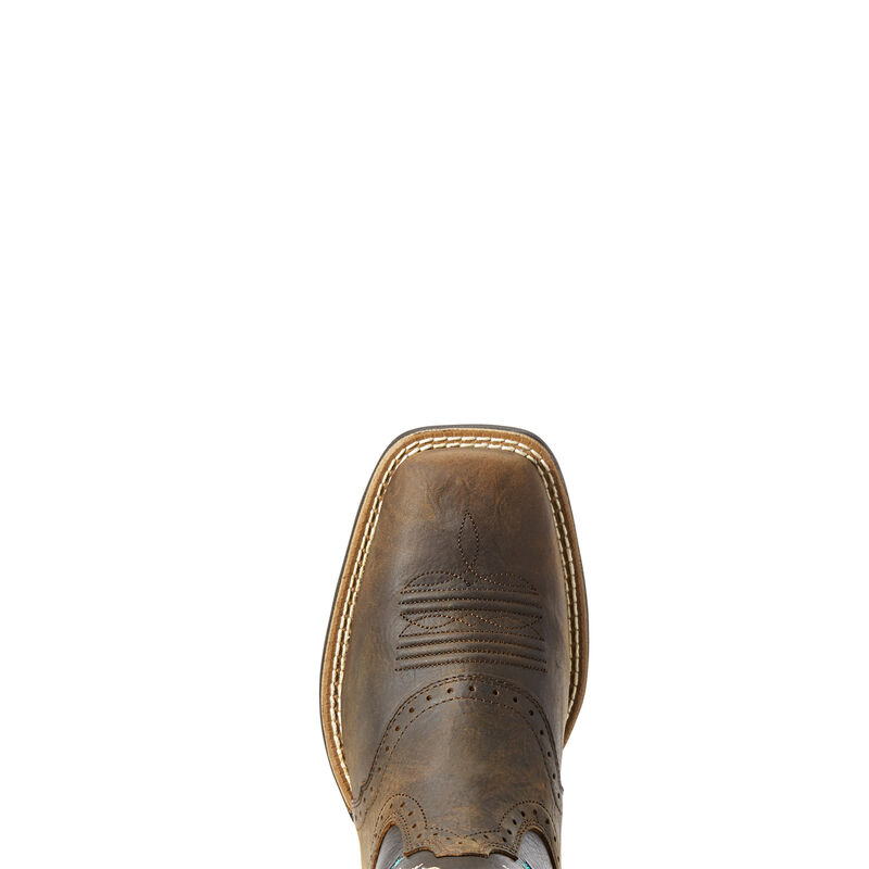 Round Up Melrose Western Boot