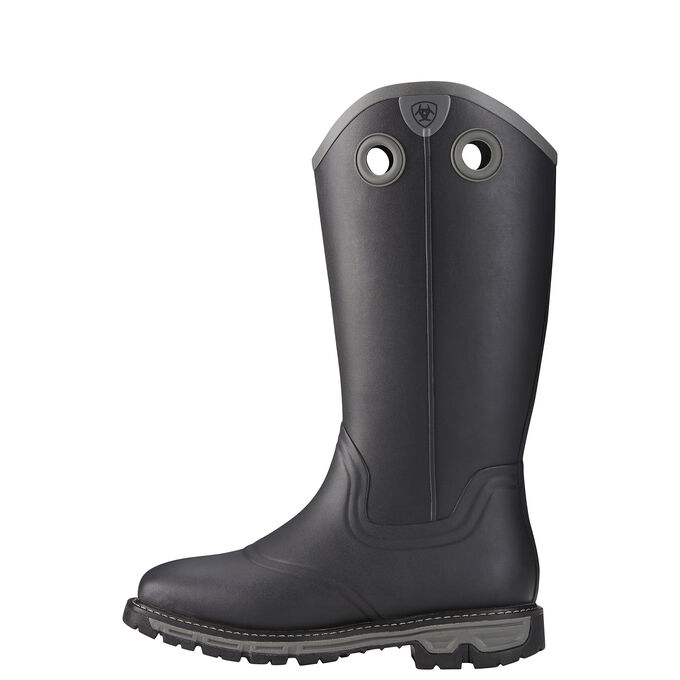 Conquest Buckaroo Waterproof Insulated Square Toe Rubber Boot
