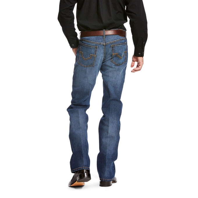 Relentless Relaxed Fit Double Stitch Performance Stretch Boot Cut Jean