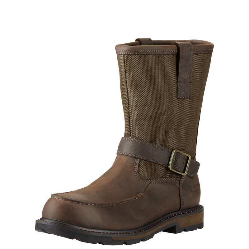 Groundbreaker Moc Toe Waterproof Steel Toe Work Boot