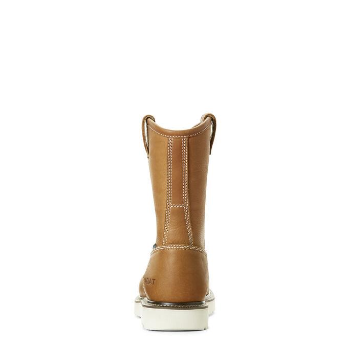 Rebar Wedge Pull-On Waterproof Composite Toe Work Boot