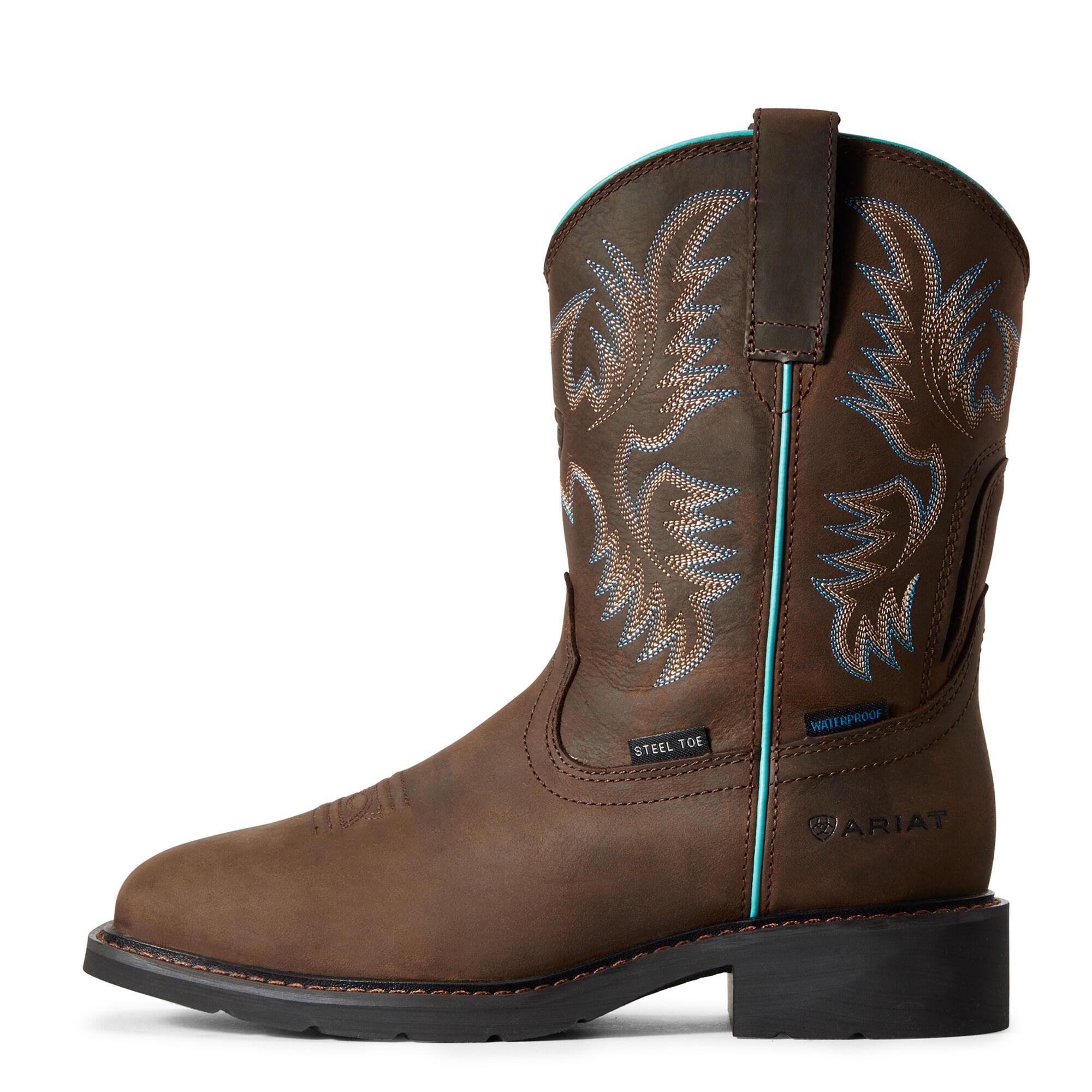 Krista Waterproof Steel Toe Work Boot