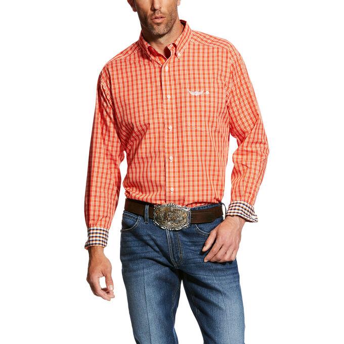 Relentless Transcend LS Plaid Shirt