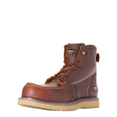 "Rebar Wedge Moc Toe 6"" Waterproof Composite Toe Work Boot"