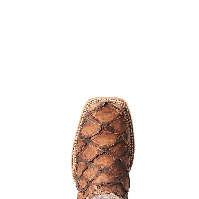 Vaquera Exotic Western Boot