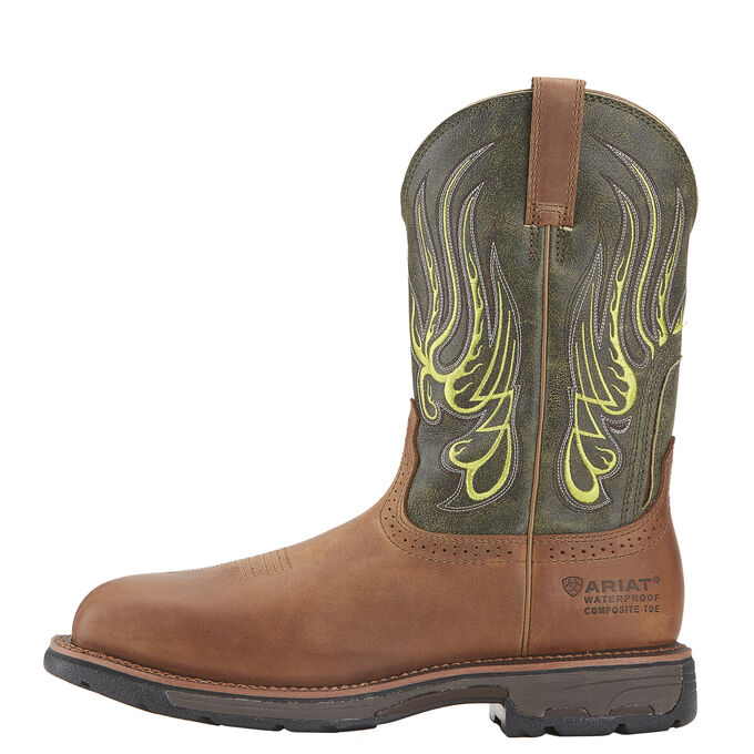 4ed5e472550 WorkHog Mesteno Waterproof Composite Toe Work Boot