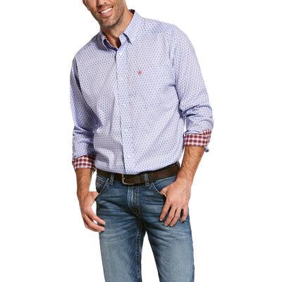 Wrinkle Free Wansor Classic Fit Shirt