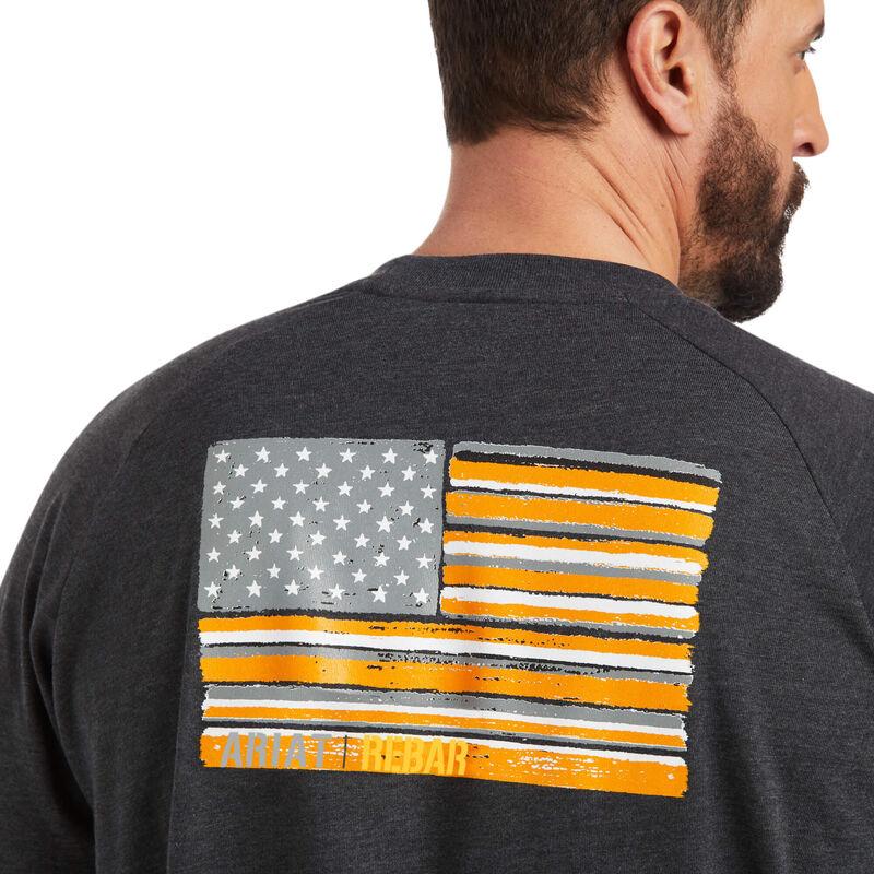 Rebar CottonStrong Brand Flag T-Shirt
