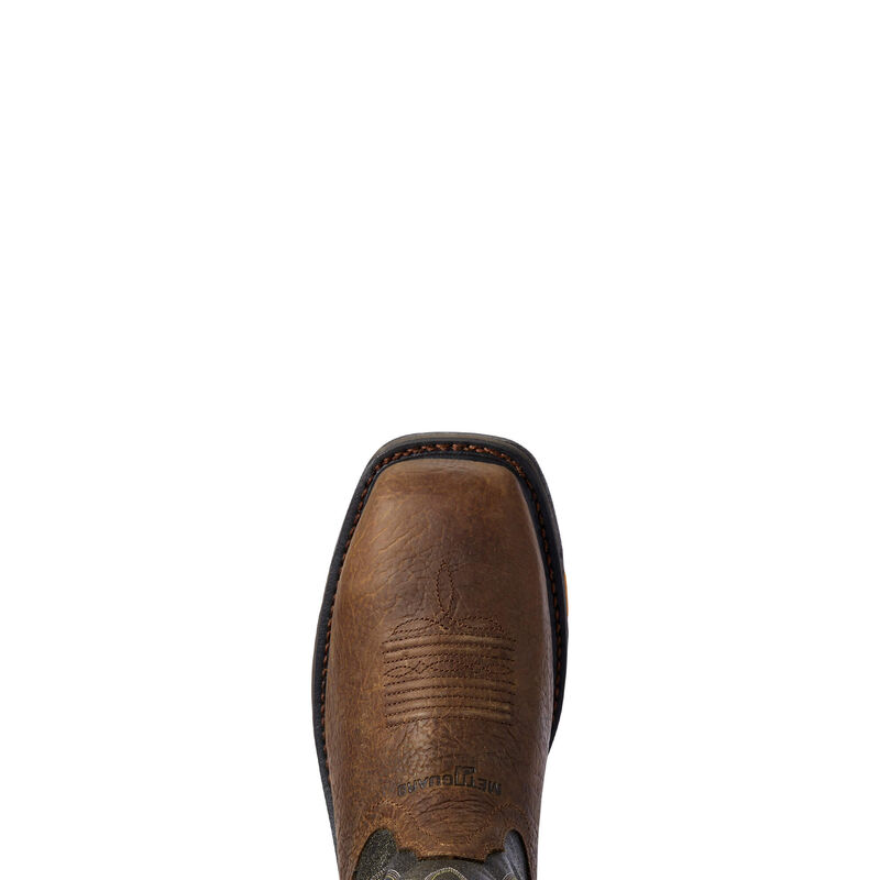 WorkHog Wide Square Toe MetGuard CSA MetGuard Composite Toe Work Boot