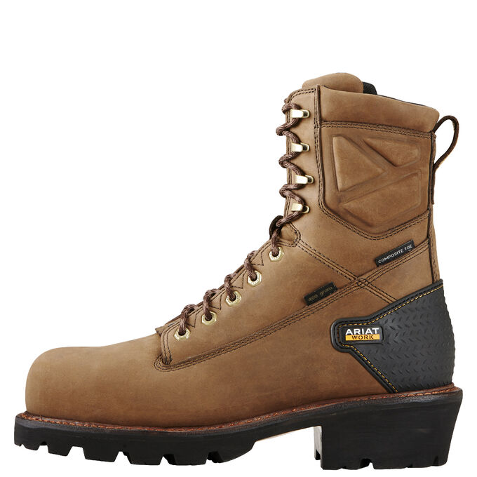 "Powerline 8"" Waterproof 400g Composite Toe Work Boot"