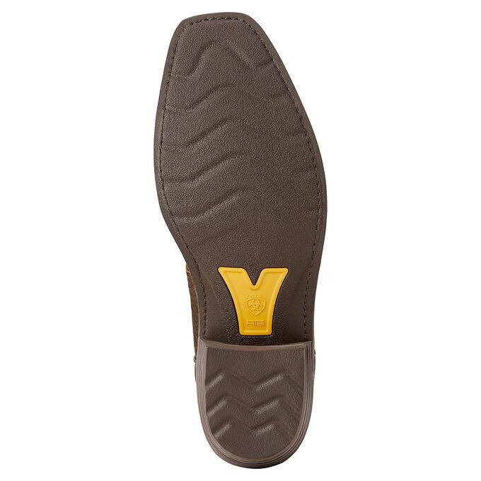 Mens Tan and Brown Cowboy Boots
