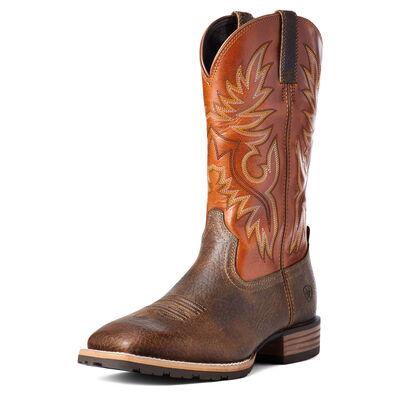 Hybrid Big Boy Back Zip Western Boot