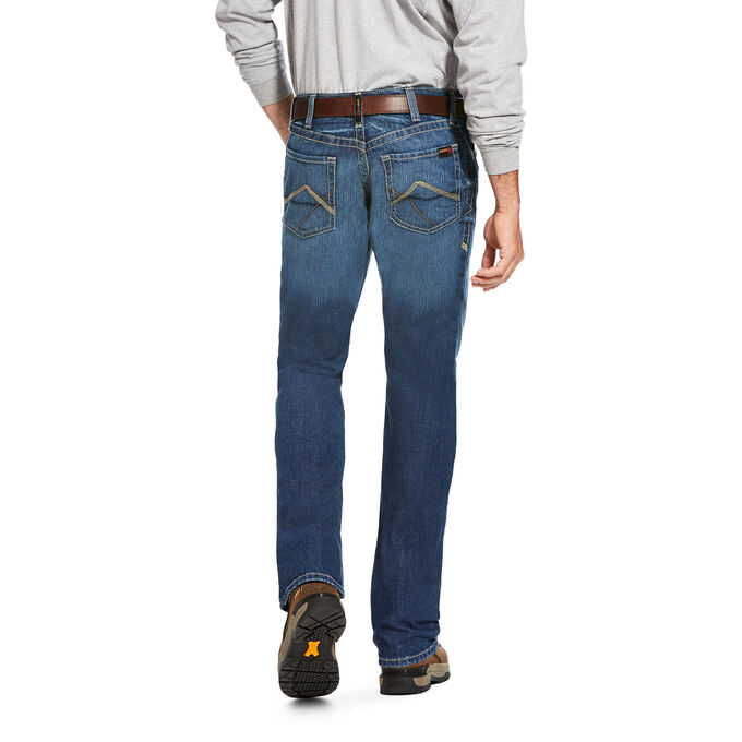 FR M4 Low Rise DuraStretch Stitched Incline Boot Cut Jean