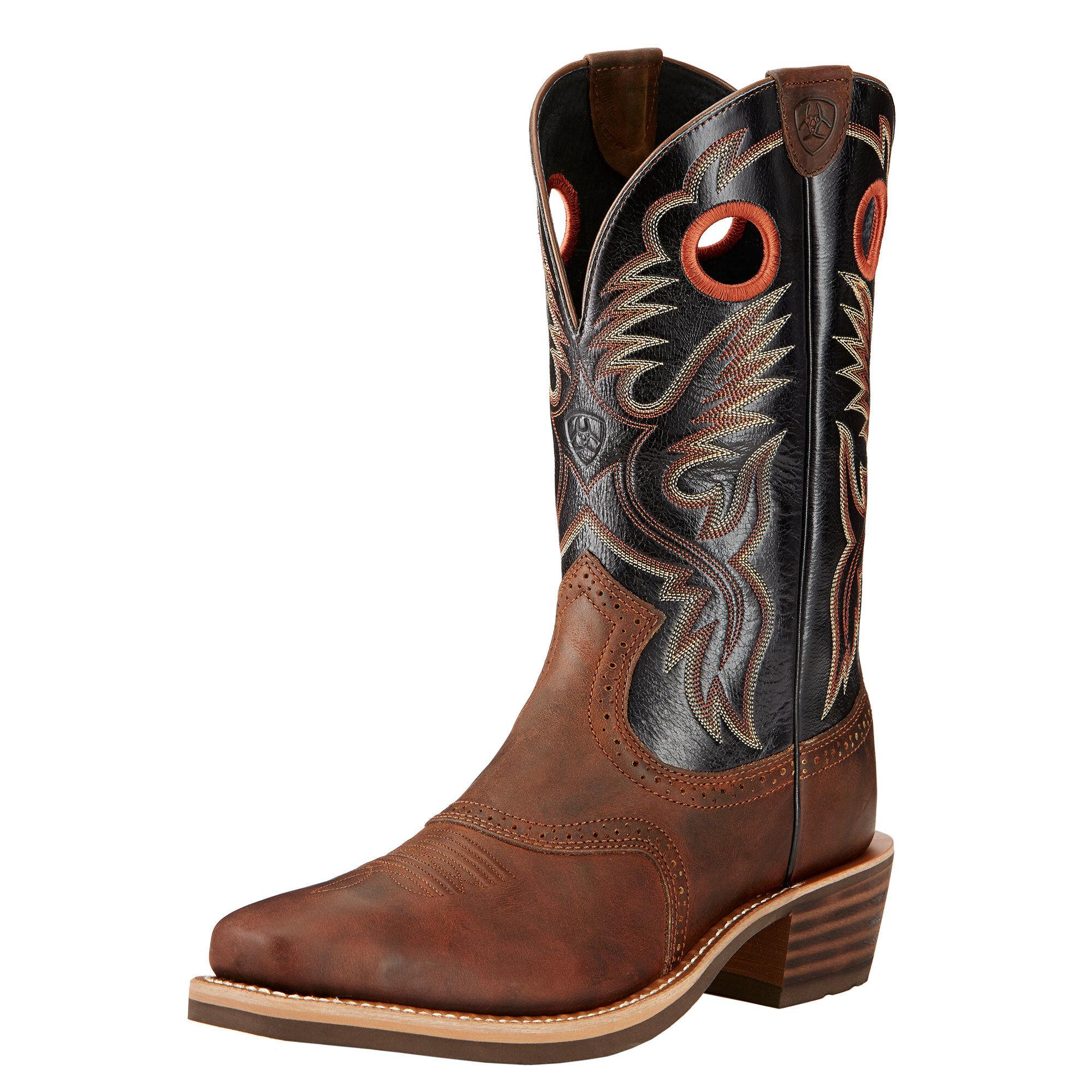 Heritage Roughstock Western Boot