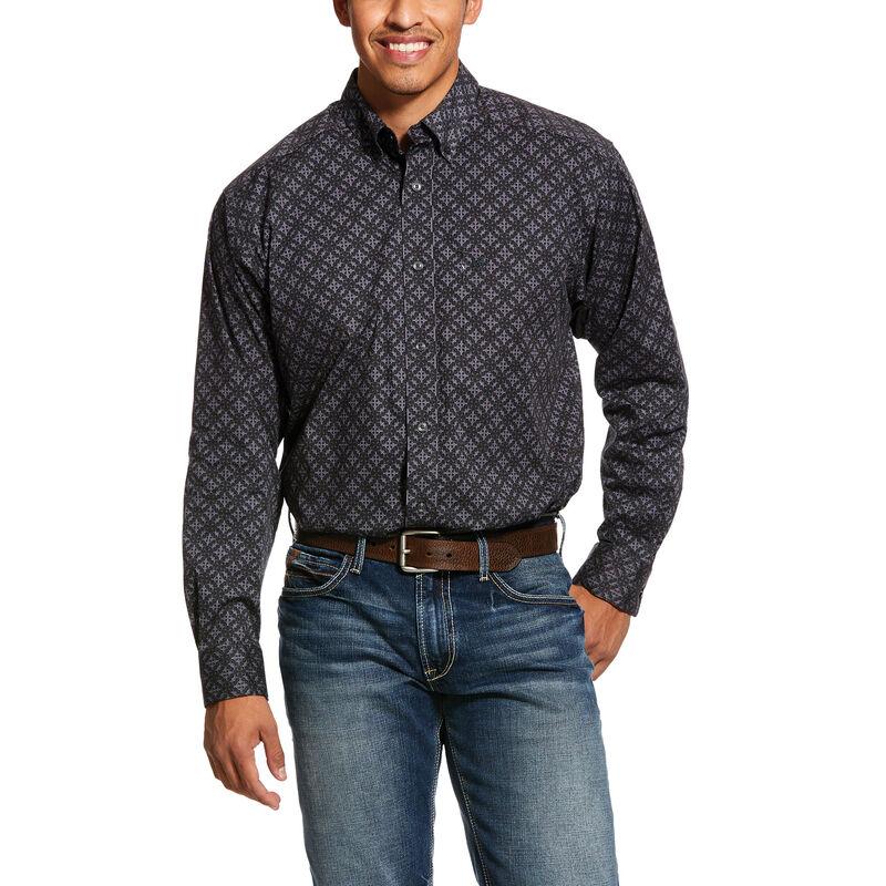 Fanton Print Stretch Classic Fit Shirt