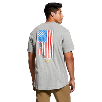 Rebar Cotton Strong American Grit Graphic T-Shirt