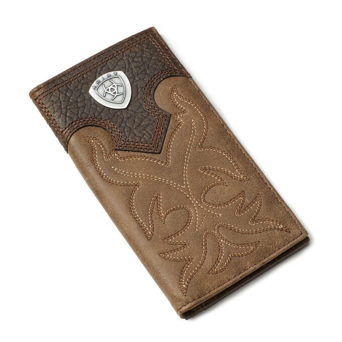 Boot Stitch and Shield Wallet