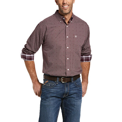 Wrinkle Free Maddox Classic Fit Shirt