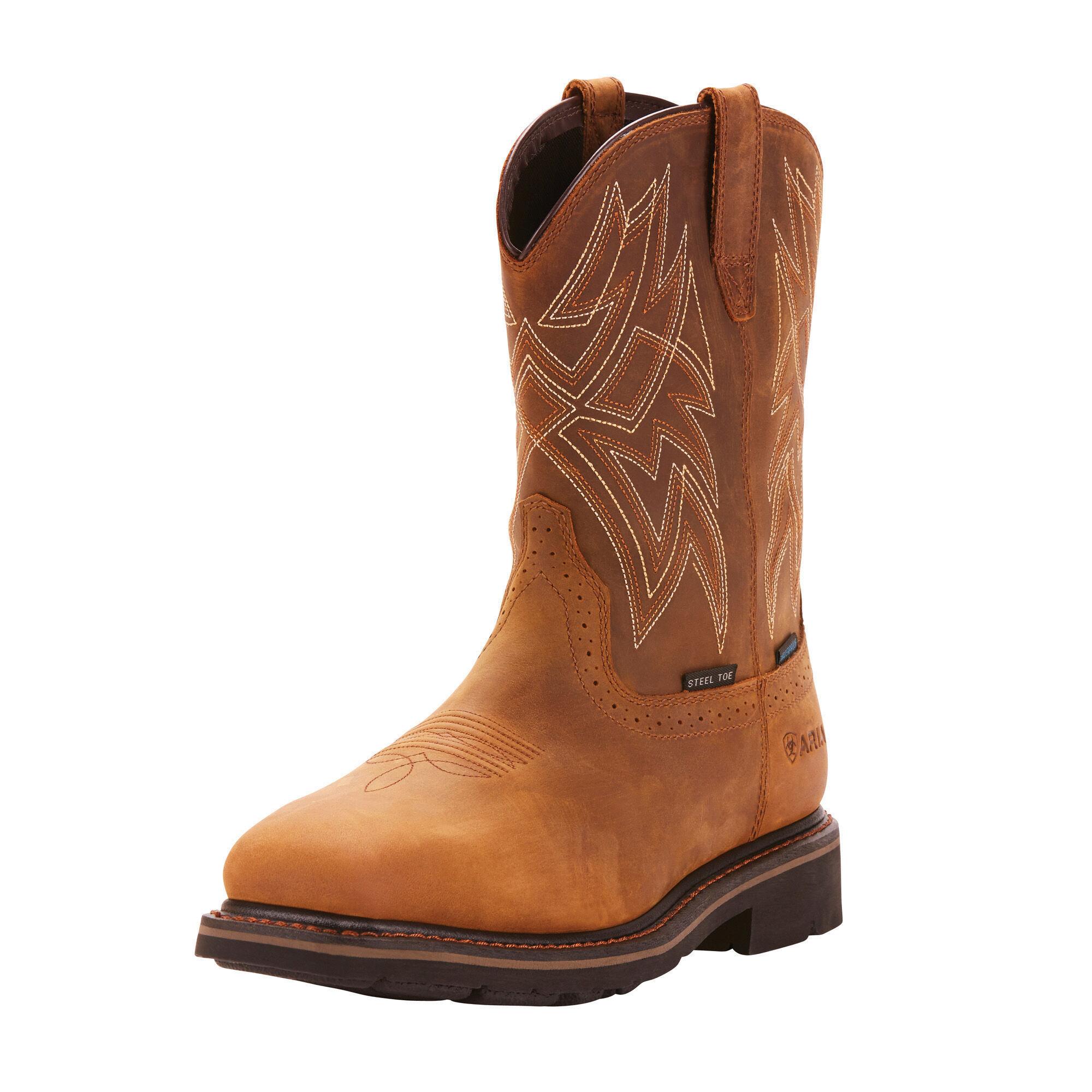 Everett Waterproof Steel Toe Work Boot