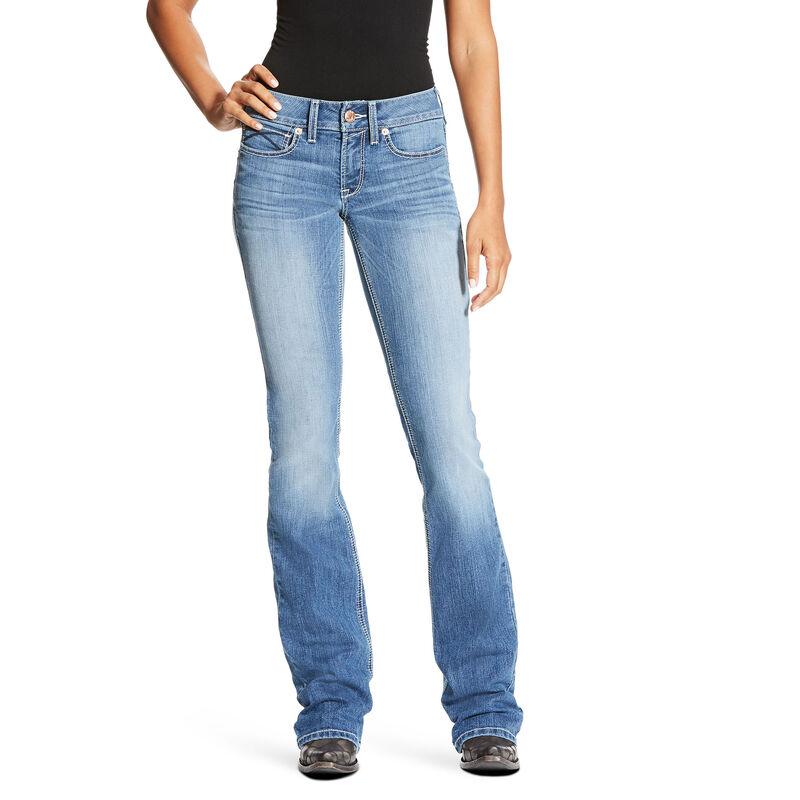 R.E.A.L Mid Rise Lenora Boot Cut Jean