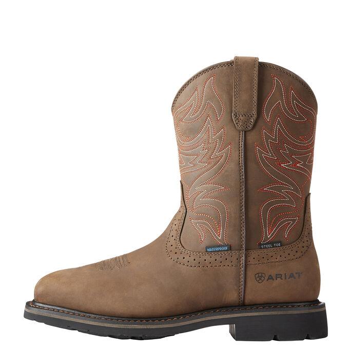 Sierra Delta Waterproof Steel Toe Work Boot