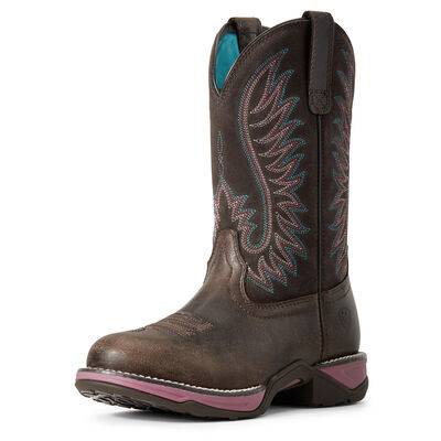 Anthem Round Toe Western Boot