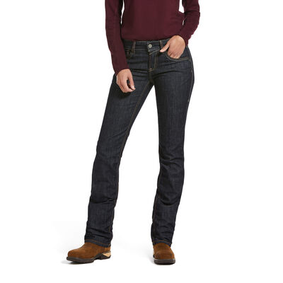 FR Stretch DuraLight Rosa Stackable Straight Leg Jean