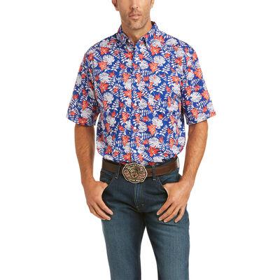 Garstow Print Classic Fit Shirt