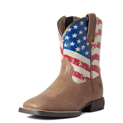 Child Stars and Stripes Western Boot