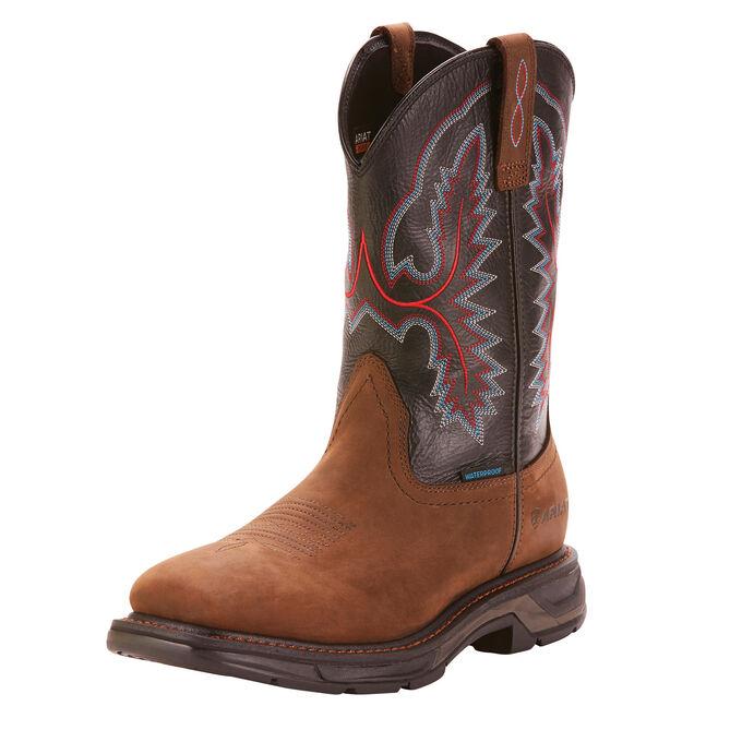 WorkHog XT Wide Square Toe Waterproof Work Boot