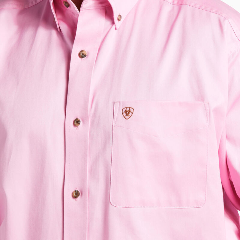 Solid Twill Classic Fit Shirt